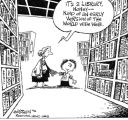 Image 4 - Library Cartoon/Web